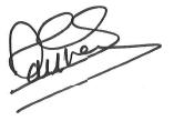 signature Présidente